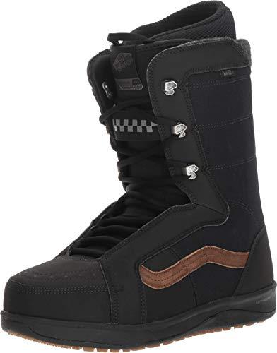 (Vans Hi-Standard Pro Men's Snowboard Boots, Black/Brown, 2019 (7 D US))