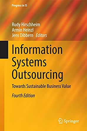 Information systems outsourcing towards for Armin heinzl