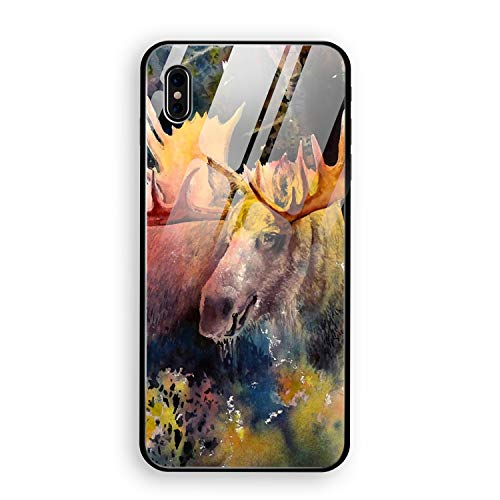 - iPhone X Case Majestic Moose Eco-Friendly PC Material Protective Case Cover 5.8 inch