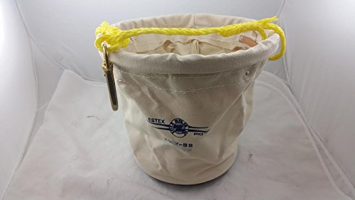 New Estex 2062-BS Plastic-Bottom Canvas Tool Bucket Fast Shipping!!!