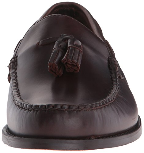 Sebago Mens Heritage Tassel Slip-on Loafer Brown Oiled Waxy Leather pZ5YfE