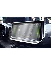 CDEFG [2 stuks] voor Peugeot 208 E-208 2008 E-2008 2020 auto navigatie beschermfolie 4H krasbestendig anti-vingerafdruk 10 inch GPS transparant displaybeschermfolie