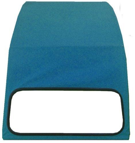 TOPCAR Capote 2CV bleue celeste, neuve avec ouverture exté rieure neuve avec ouverture extérieure