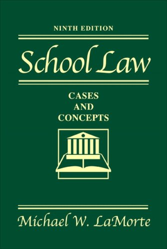 School Law: Cases and Concepts Value Package (includes MyLabSchool Student Access )