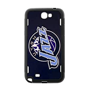 Utah Jazz TPU Phone Case for Samsung Galaxy Note 2-by Allthingsbasketball
