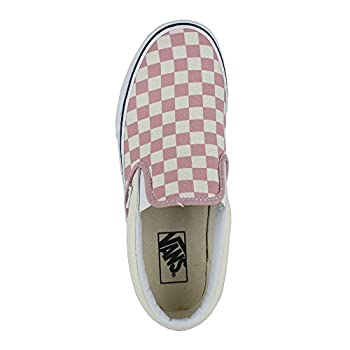 Vans Mono Classic Slip-on Checkerboard Zephyr Pink Sneakers Shoes 8.5 Mens10 Womens 3