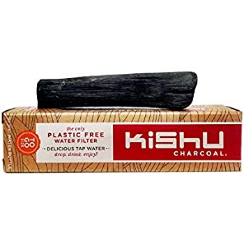 Kishu Charcoal - Activated Charcoal Water Filter for Water Bottles