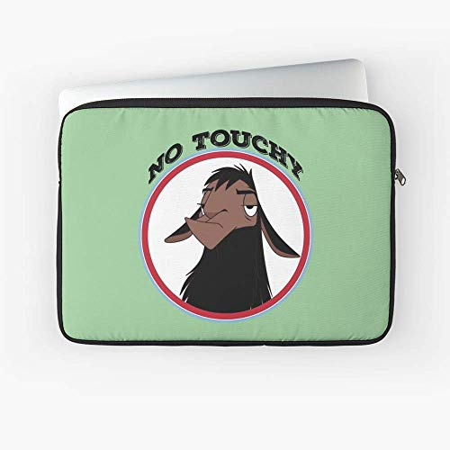 No Touchy Sad Llama Emperors New Groove Emperor David Spade Back Off No Touch Funny Gift Laptop Sleeve