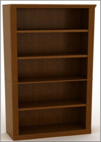 5 Shelf Bookcase Finish: Espresso