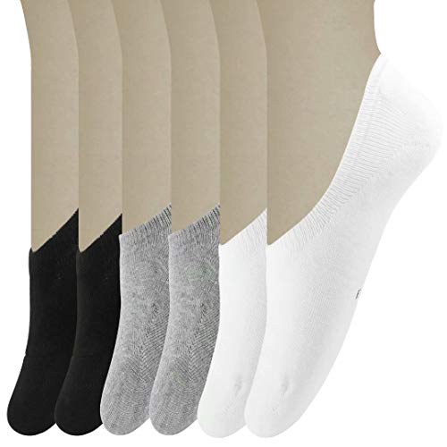 Size 3.5-15 Low Cut Invisible Cotton Sneaker Socks 6 No Show Liner Socks Women