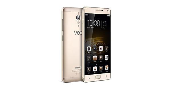 Lenovo VIBE P1 5000mAh 3+16GB 4G LTE Dual Sim Android 5.1 Octa Core 5.5 inch FHD 5+13MP Oro: Amazon.es: Electrónica