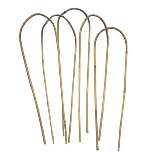 24 in. Bamboo U Trellis Hoop Stakes (5 Pack) ()