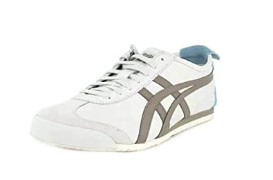 timeless design caa82 59f2e ASICS Onitsuka Tiger Mexico 66 Mens in Dark Grey/Stone Grey ...