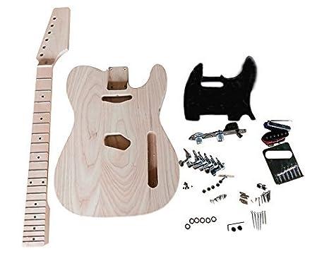 Coban Guitars HY290BR Cuerpo De Fresno Guitarra Eléctrica Kit ...