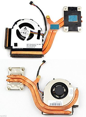 New Laptop CPU Cooling Fan with heatsink for Lenovo IBM Thinkpad X220 X 220I X230 X 230I P/N:04W0435 04W1774 04W6921 60.4KH17.001 B01KSB0405HA