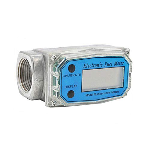 TG888 Turbine Digital Diesel Fuel Electronic Flow Meter Oval Gear Flow Gauge BSPT/NPT 1 inch 200 L/MIN from TG888Warehouse