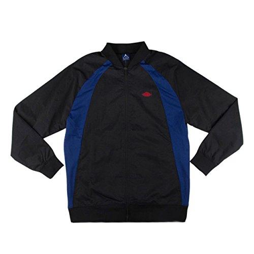 Air Jordan Wings Track Jacket 872861 010 Black Varsity Royal University Red sz XXL US by Jordan