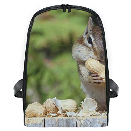 Squirrels Eating Animal School Backpack For Girls Kids Elementary School Bag Mini Backpacks
