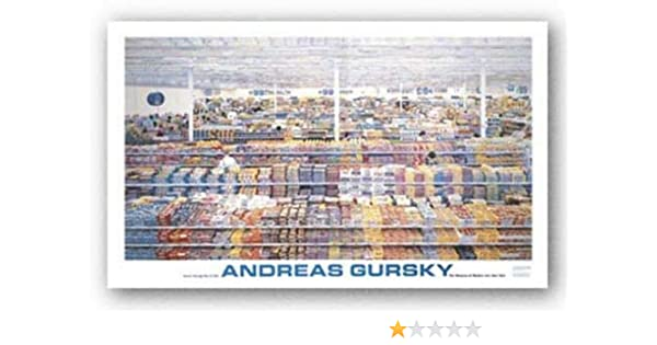 Amazon McGaw Graphics 99 Cent By Andreas Gursky 2825x52 Art Print Poster Posters Prints
