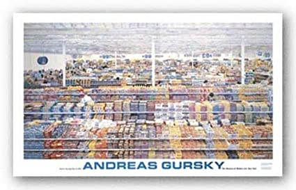 Amazon McGaw Graphics 99 Cent By Andreas Gursky 2825x52 Art