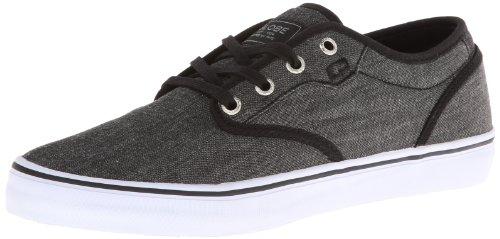Der bunte Skate-Schuh der Kugel-Männer Schwarzer Chambray