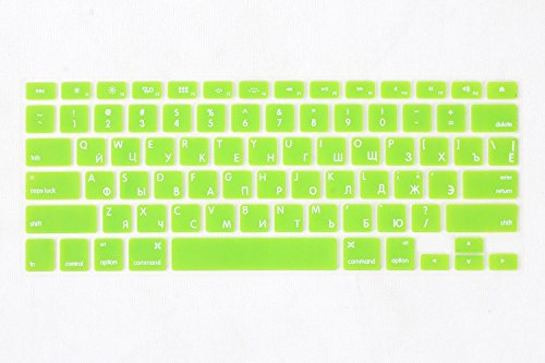 Leze - Russian Language Keyboard Cover Silicone Sk...