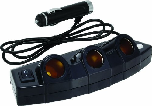 Bell Automotive 22-1-39023-8 Black 3-Outlet Power Strip by Bell Automotive