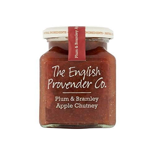 English Provender Co. Ploughmans Plum & Bramley Apple Chutney (300g) - Pack of 2 by English Provender