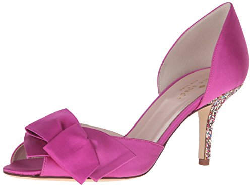 kate spade new york Women's Sala Dress Pump, Fuchsia, 6.5 M US by Kate Spade New York