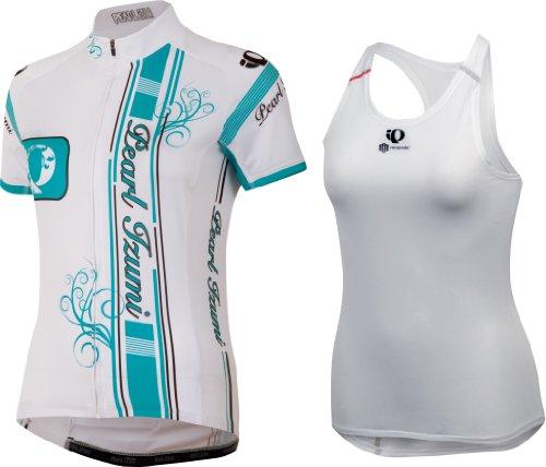 Pearl izumi iP big ensemble maillot de corps de ski pour femme blanc 2013 blanc