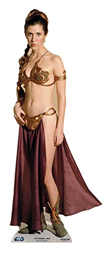 Star Cutouts Cut Out of Leia Gold Bikini