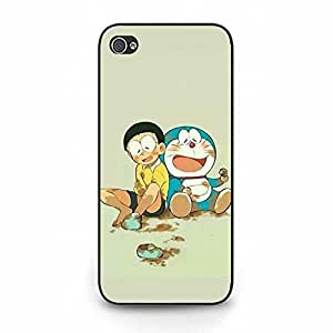 Fahionable Doraemon Phone Case Cover for Iphone 5/5s Viking Current Cartoon