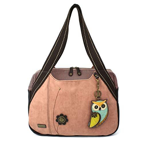 Chala Bowling Bag - Owl-A - Dusty Rose