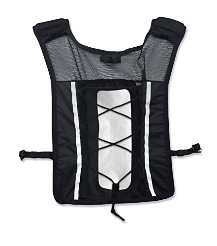 Roadnoise Long Haul Vest Running and Cycling Vest with speakers. Safer running and riding with music. (Black, X-Small/Small) by Roadnoise (Image #6)