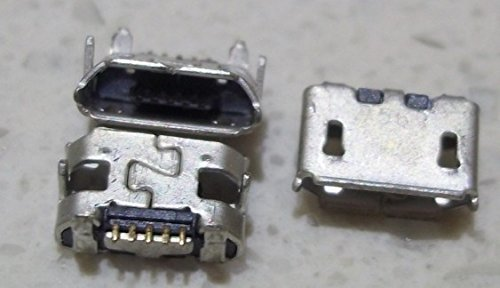Gimax 100pcs/lot micro 5pin usb connector for Blackberry 8520 8530 8550 9700 9780 9300