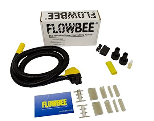 Flowbee Haircutting System with One Extra Vacuum Adapter (Flowbee+Plastic Vaccum Adapter) by FLOWBEE