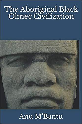 The Aboriginal Black Olmec Civilization: Anu M'Bantu