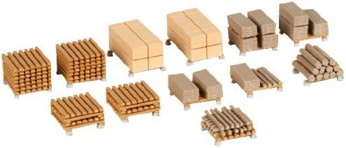 Kibri 38607/ /H0/Ausgestaltungs Set Timber