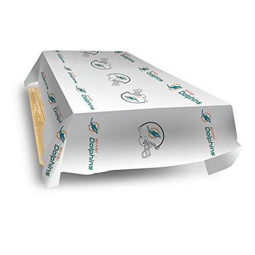 Rico Industries NFL Miami Dolphins 8-Foot Table Cover