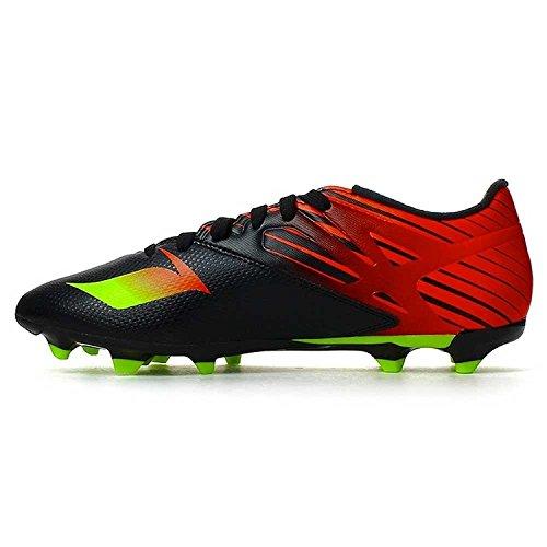 指令北西あなたのものAdidas Messi 15.3 FG/AG - (Core Black/Neon Green/Infrared)/サッカースパイク Messi 15.3 FG/AG (9-27.0cm)