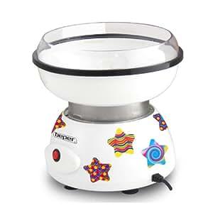 Beper 90.389 - Máquina para hacer algodón de azúcar, multicolor