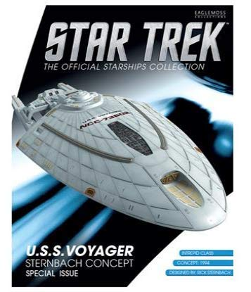 Star Trek Starships Vehicle & Collectors Magazine Exclusive: U.S.S. Voyager (Sternbach Concept)