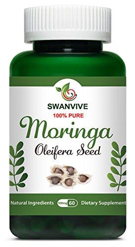 Swan Moringa Oleifera Seed Powder Capsules 60