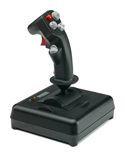 200-571 CH Products Fighterstick USB (Rise Of Flight Pc Game)