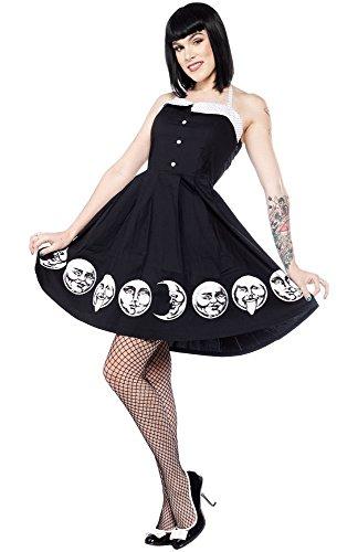 Sourpuss Moon Faces Spooksville Dress XL