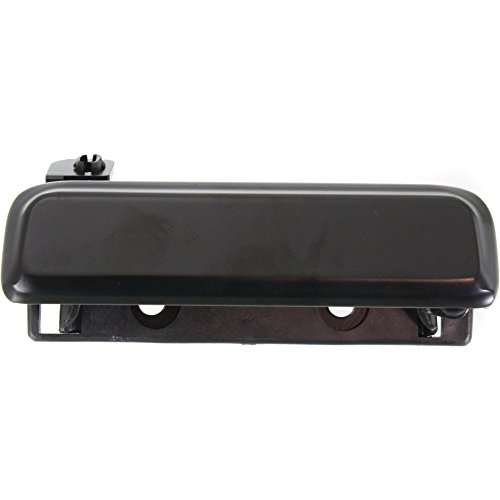 Door Handle compatible with 86 ford Bronco II Base 2.9L Front Right Side Exterior Metal Smooth ()