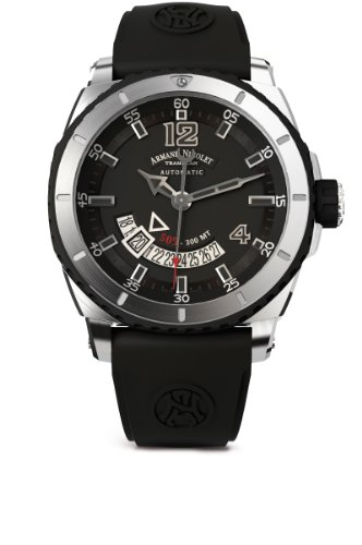 Armand Nicolet Men's A710AGN-GR-GG4710N S05 Analog Display Swiss Automatic Black Watch