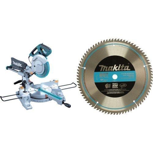 Makita LS1018 Dual-Bevel Slide Compound Miter Saw, 10-Inc...