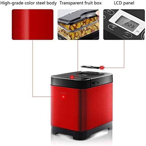 Machine à pain automatique, machine à pain rapide intelligente, tactile entièrement automatique 450 W, écran LCD, 6 couleurs brûlées sur les côtés, 18 menus, heure du rendez-vous
