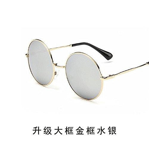 Gafas del JUNHONGZHANG Espejo Hombre Redondas Mercurio Mercurio Par De Conductor Gafas Retro De De Gafas Gafas Conducir Sol Sol Sol fqAWBY4qP